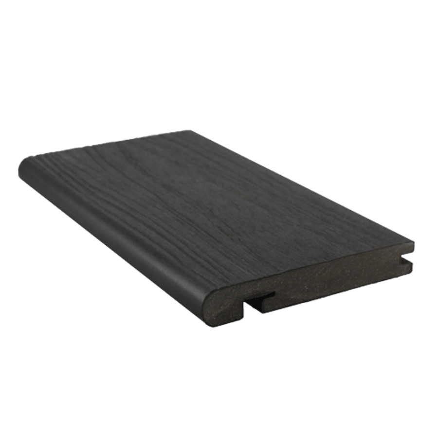 For neat finishing at edge of deck areas and step treads. Available in each Signature board shade.