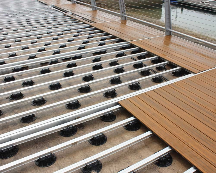 Ryno decking substructure is guaranteed to last