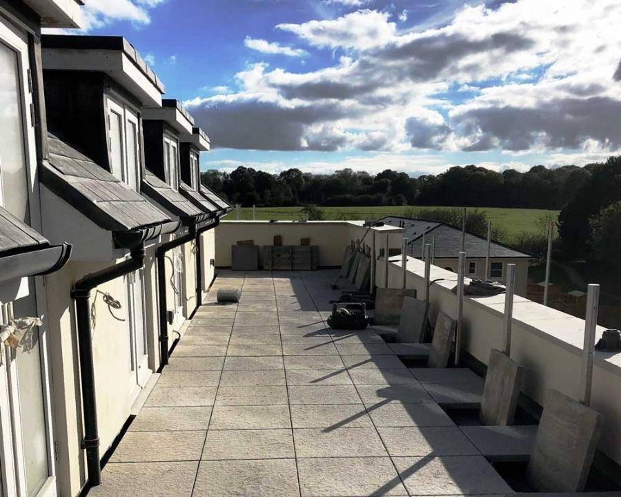 Project Focus: New Build Private Terraces