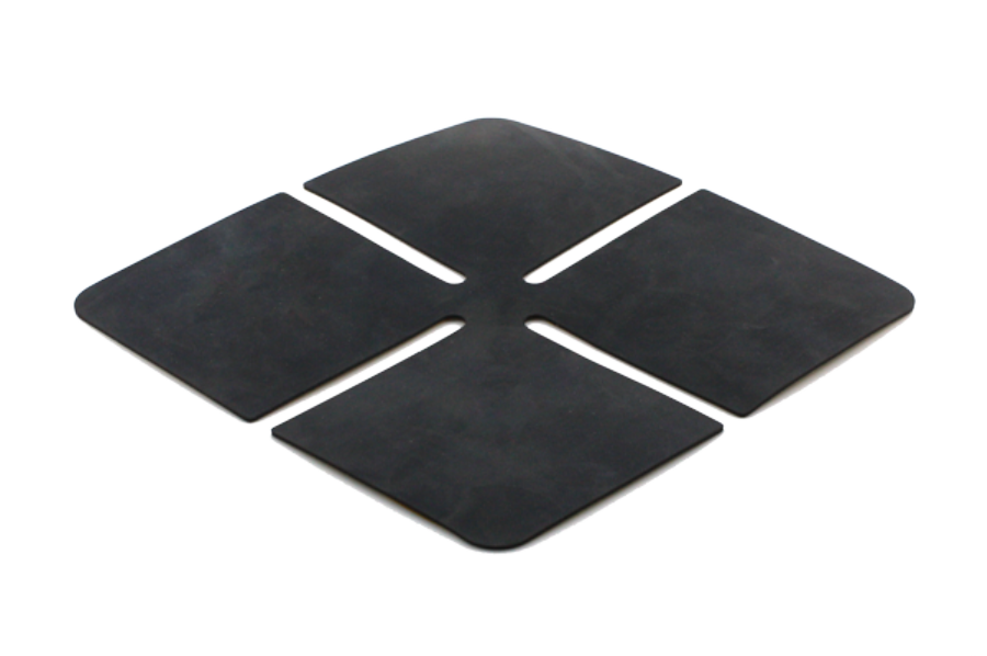 Enhances shock absorption and sound reduction. Perfect for lighter or harder paving materials, such as porcelain
