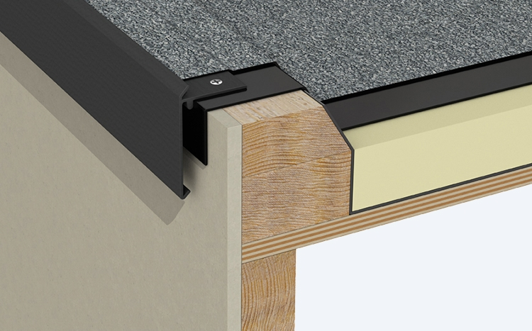 Roof Edge Trim Flat And Pitched Roofing Drainage