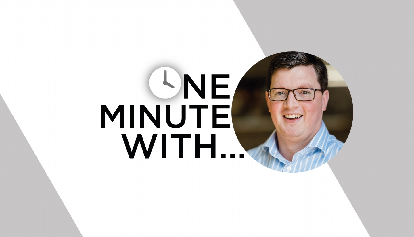One Minute With... Aaron