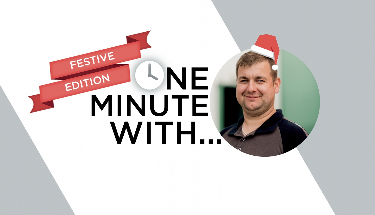 One Minute With... Rob (Festive Edition)