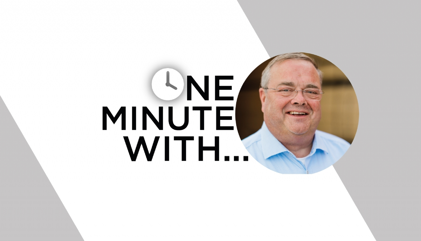 One Minute With... Tim