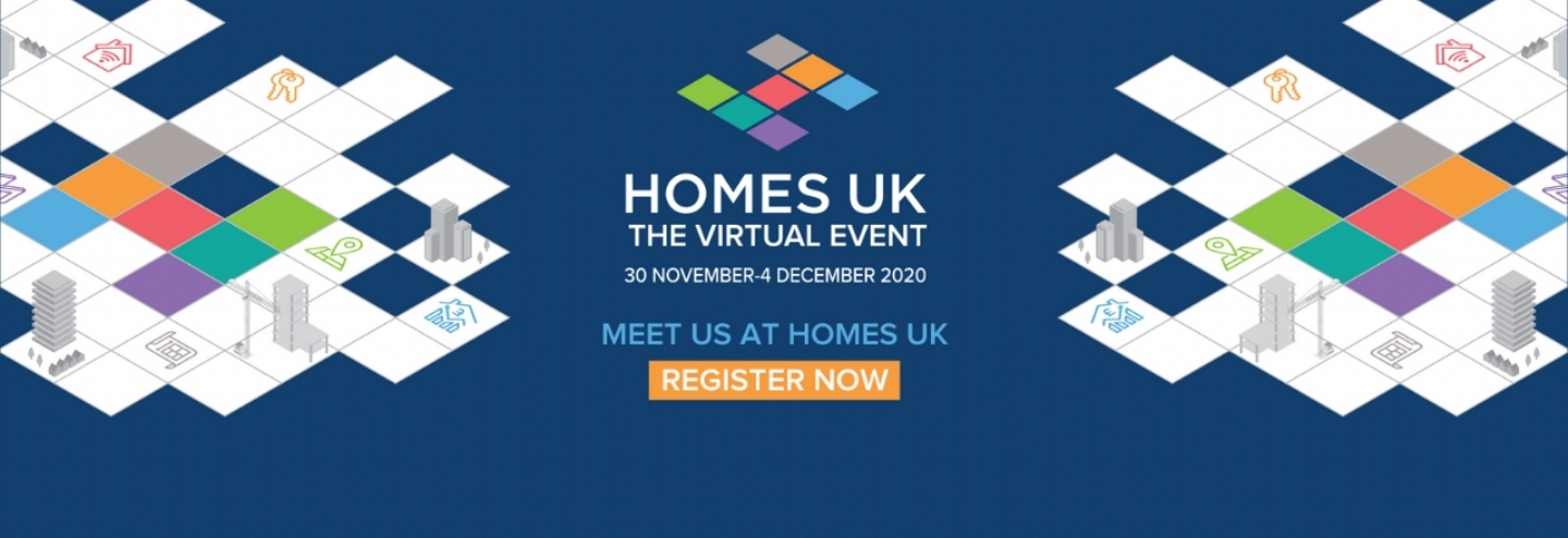 Meet us at Homes UK 2020: The Virtual Event
